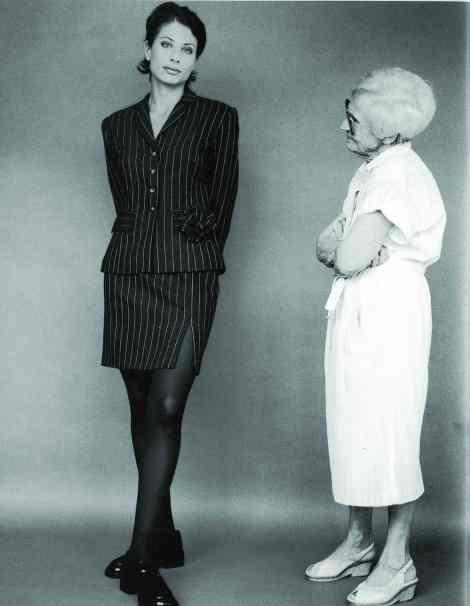 חליפת צמר פס סיכה 1997