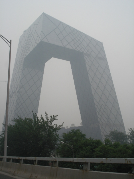 Rem Koolhaas' CCTV building