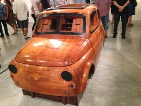 המודל של ה 500 המקורית, משנת 1956, נוצר על ידי דאנטה ג'יאקוזה, ומוצג בתערוכה בחולון