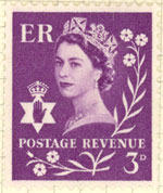 Royal purple stamp, Northern Ireland
