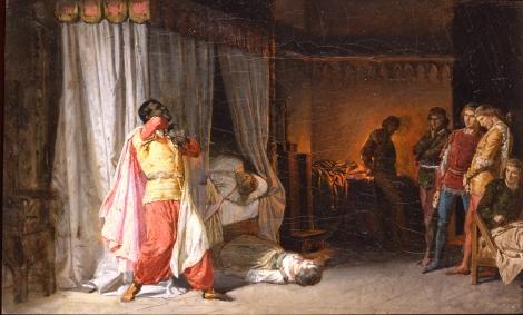 Molmenti Pompeo Marino_La morte di Otello_Studio 1versione_inv.4569_Ca' Pesaro
