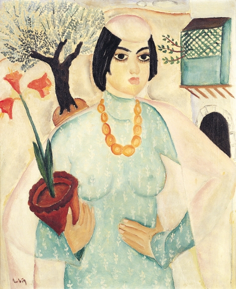 ראובן רובין, סופי הבוכרית, 1926-1924, שמן על בד, אוסף בית ראובן, עיזבון אדגר כהן, ארהב (1)