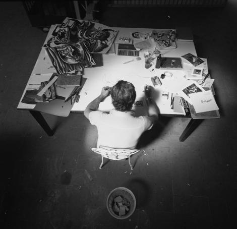 1973, Renato Guttuso,Velate
