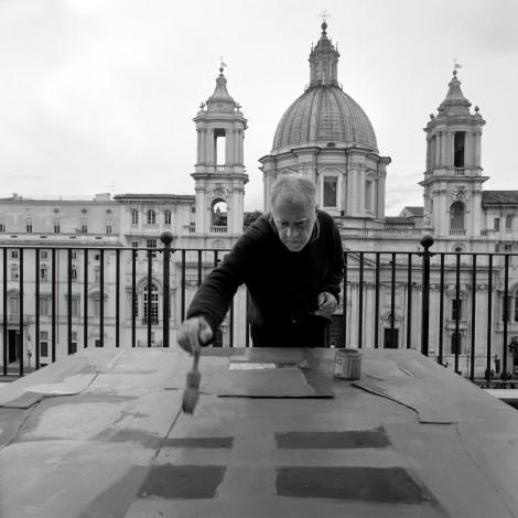 Mimmo Paladino,Roma 2014