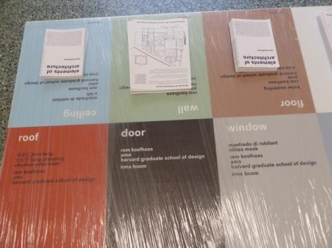 יסודות האדריכלות: חלונות, דלתות,רצפה וגג.