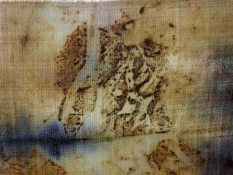 מתוך אוסף הבדים המודפסים ביד של אילנה אפרתי