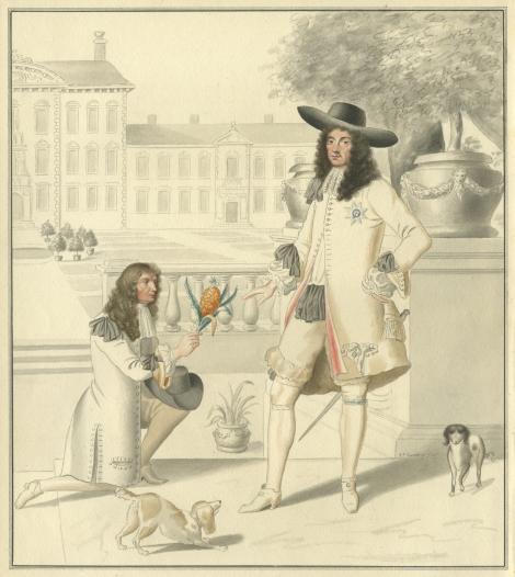 המלך צ'ארלס השני ואננס, 1820