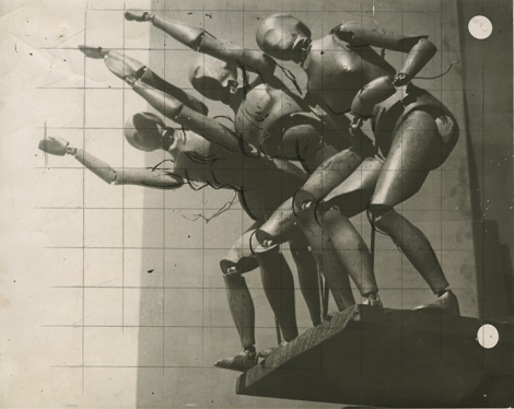 José María Sert (1874–1945), Photographic study for The Triumphs of Humanity,