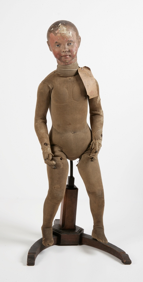 Unknown maker (French, 19th century), Lay figure, 'Child no. 98', mid-19th century