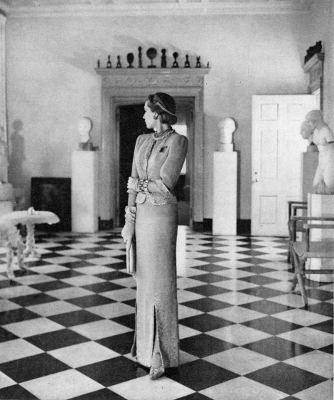 Conde Nast, Model in the Home of Princess Gourielli