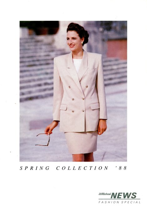 Fashion Special, Spring 1988 - Cover © Marks & Spencer Company Archive, Marks and Spencer plc