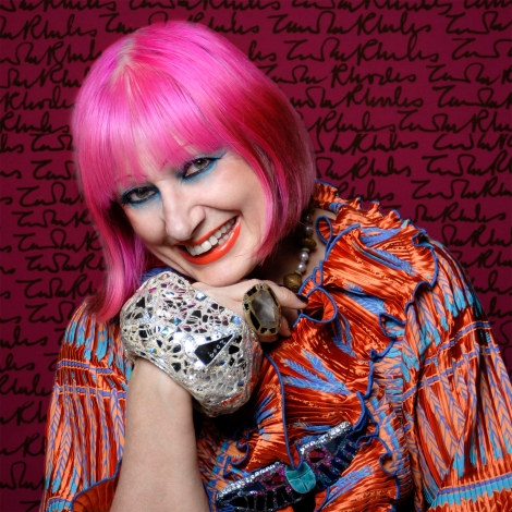 Zandra Rhodes Photograph by-Gene-Nocon1