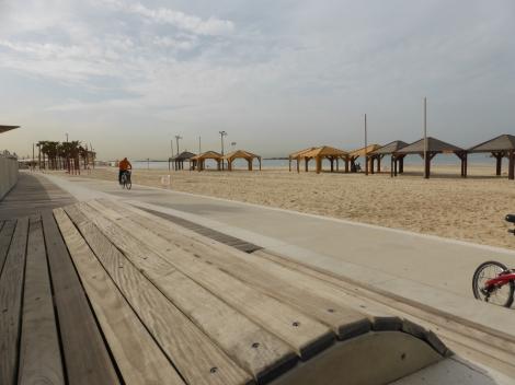 נובמבר בחוף תל אביב