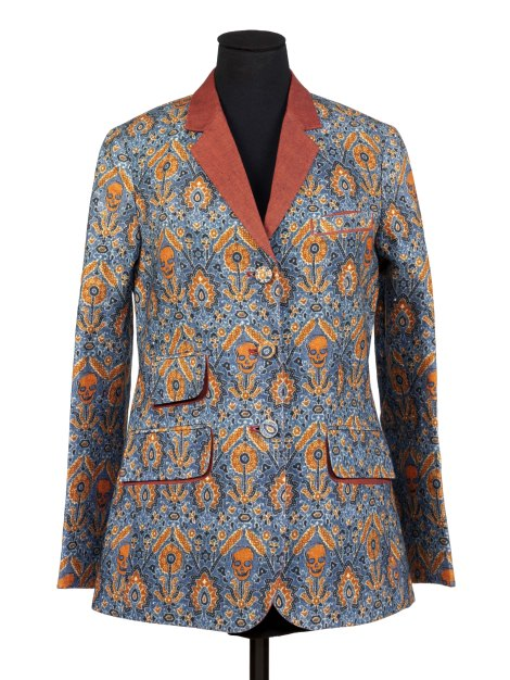 Jacket Women's 'Ajrak' Jacket, digitally printed linen, designed by Rajesh Pratap Singh, Delhi, 2010 Rajesh Pratap Singh Delhi 2010 Digitally printed linen