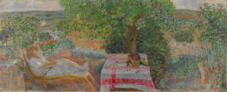 Pierre Bonard, Rest Time in the Garden