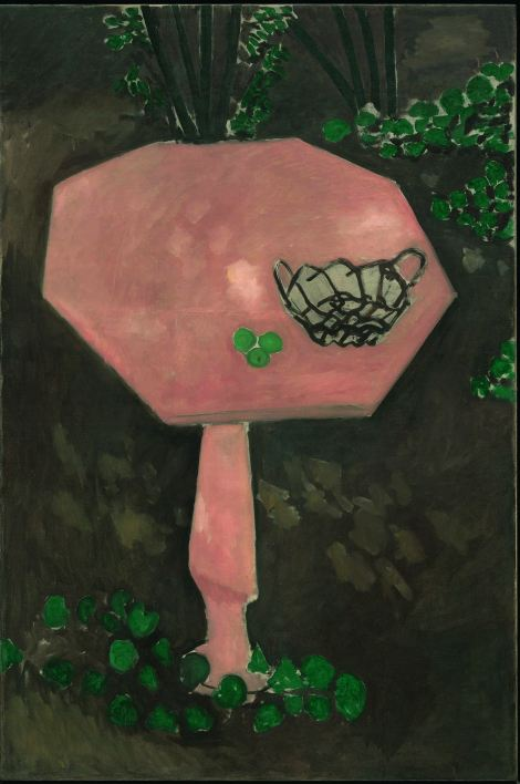 Matisse, Henri (1869-1954): The Rose Marble Table (Issy-les-Moulineaux, spring-summer 1917). New York, Museum of Modern Art (MoMA)*** Permission for usage must be provided in writing from Scala.