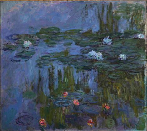 Claude Monet (French, 1840-1926), Nymphas (Waterlilies), 1914-1915, oil on canvas, Museum Purchase: Helen Thurston Ayer Fund, © artist or other rights holder, 59.16