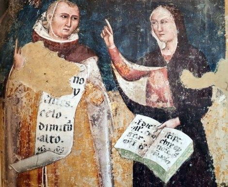Sibilla e Virgilio, detaglio del Albero di Jesse