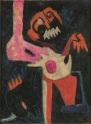 21. Colette Omogbai, Agony, c. 1963, IwalewahausDEVA, University of Bayreuth, © Colette Omogbai